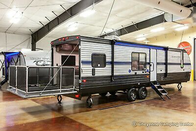 New 2019 Cherokee 294rr Limited Lite Slide Out Toy Hauler Travel