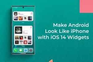 كيفية الحصول على ويدجت Iphone على شاشة Android الرئيسية Iphone Widget Phone
