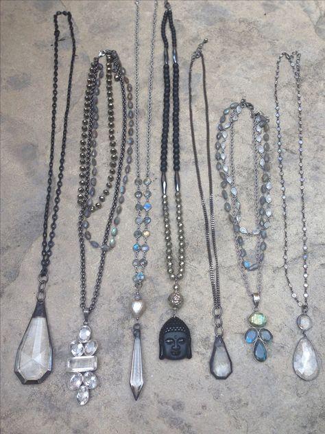 10 Solid Stone Arrowhead Collier avec perles Arrow Head Jewelry Rock Assorted Colo