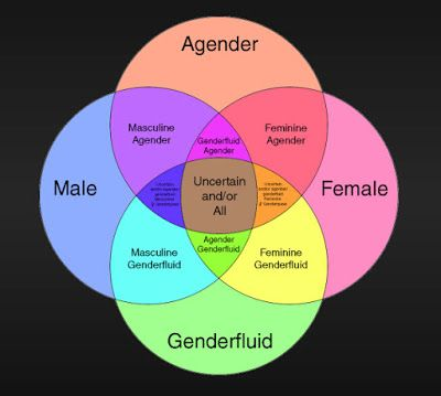 Gender Is A State Of Mind As Is Any Non Physical Part Of You You Re Not Told You Can T Be Determined Because You Have Elb Gender Spectrum Lgbtq Quotes Gender