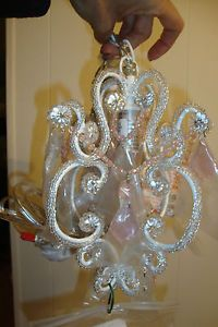 Pottery Barn Kids Gianna Mini Chandelier Hanging Light Lamp Plug In Lighting Pinterest Chandeliers And Cei
