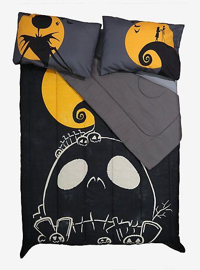 The Nightmare Before Christmas Orange Moon Comforter Nightmare Before Christmas Bedding Orange Christmas Orange Moon
