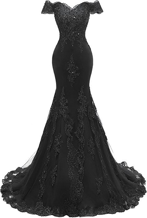 Amazon.com: Himoda Women's V Neckline Beaded Evening Gowns Mermaid Lace Prom Dresses Long H074 18W White: Clothing