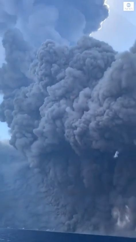 Escaping from a Pyroclastic flow - Nature is powerful