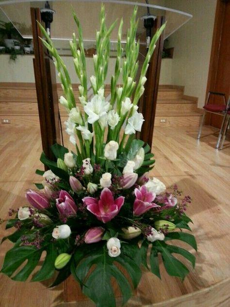 Flower Arrangement Church