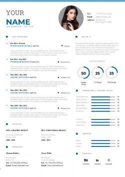 Exemple De Cv Moderne A Telecharger Au Format Word Mycvstore Resume Words Downloadable Resume Template Infographic Resume