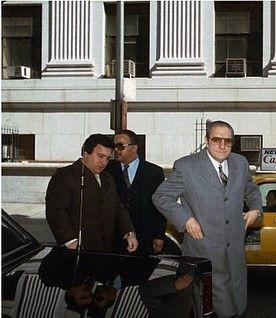 Thomas Bilotti Paul Castellano Mafia Gangster Gang Culture Crime Family
