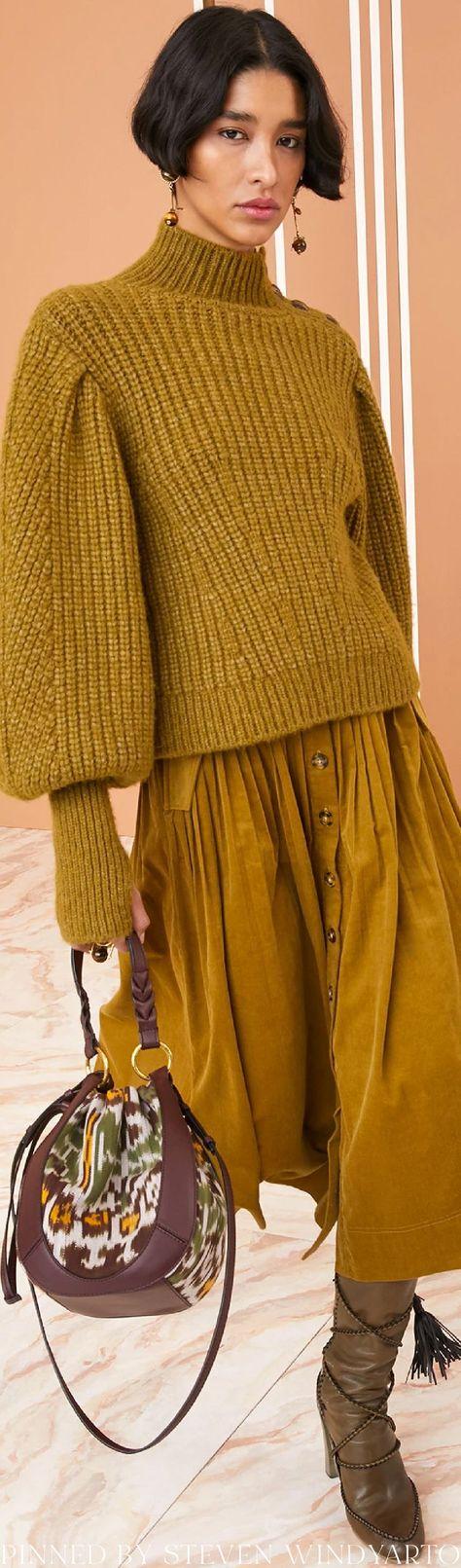 Ulla Johnson Fall 2021 Lookbook - Alana Pullover #fall2021 #fw21 #womenswear #ullajohnson