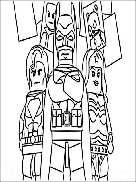 lego batman 3 ausmalbilder für kinder malvorlagen zum