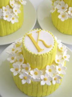 little yellow cakes
