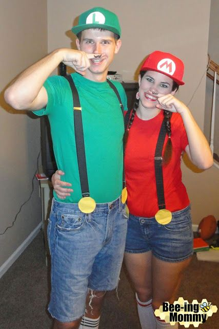 Mario And Luigi Costume Couples Costumes Mario And Luigi