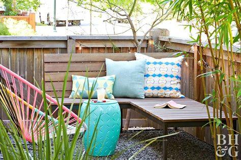 Backyard Design Ideas On A Budget Backyard Patio Seating
