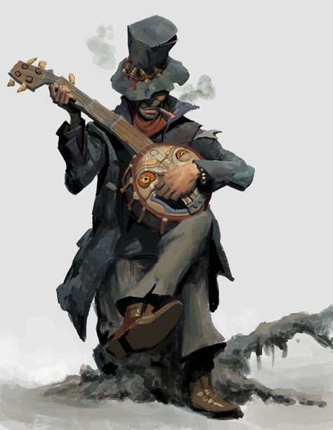 c… Voodoo bard; Fantasy Character Design, Character Design Inspiration, Character Concept, Character Art, Concept Art, Dungeons And Dragons Characters, Dnd Characters, Fantasy Characters, Bard Dungeons And Dragons