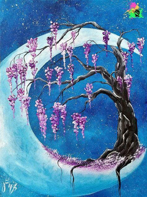Stunning Tips Bright Interior Painting Colors Interior Painting Ideas White Interior Pai Tree Painting Canvas Abstract Tree Painting Canvas Painting Tutorials