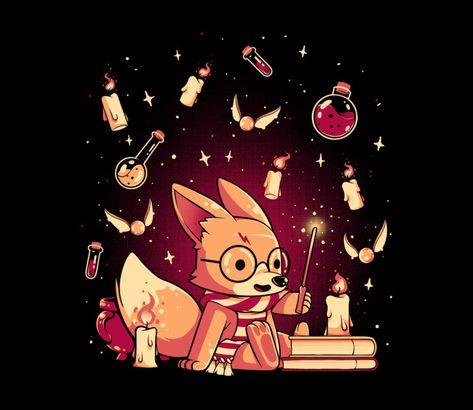 Harry Fox T-Shirt by ilustrata | Harry Potter | TeeFury