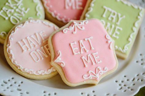 Tea Party Cookies- 1 Dozen Frame and Milk Jug Cookie Favor, Baby Shower…