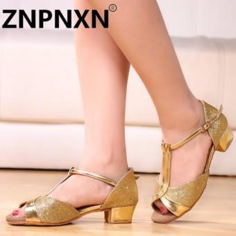 Znpnxn Kaus Children Tari Latin Sepatu Lembut Bawah Girls Sepatu