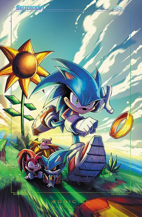Sonic CD by Rob Duenas Website - Tumblr - Facebook