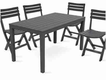 28 Immaculée Frais Ensemble Table Et Chaise De Jardin ...