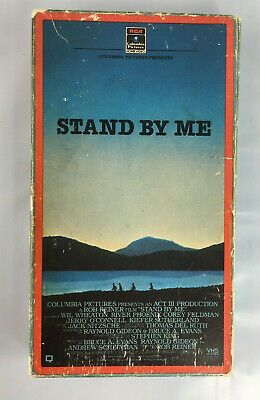 Stand By Me 1986 Vhs Movie Based On The Novella The Body By Stephen King Ebay Vhs Movie Vhs Stand By Me