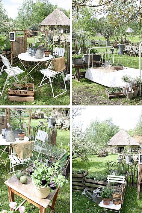 Ein Schweizer Garten Ich und das Gartencenter Gartenideen - reihenhausgarten vorher nachher