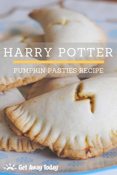 Harry Potter pumpkin pasties recipe - even better than at the Wizarding World of Harry Potter!