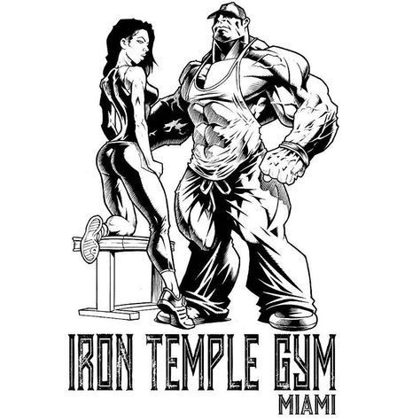282 Gilla Markeringar 12 Kommentarer Jerry Beck Illustratusmaximus Pa Instagram For Ifbb Pro Tony To Logo De Gimnasio Ropa Gym Hombre Fisicoculturismo