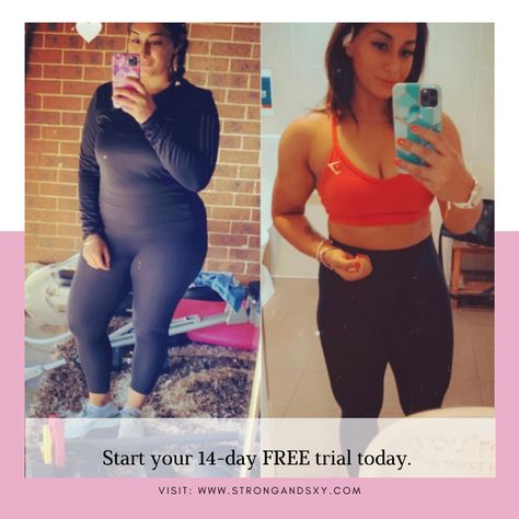 Amazing progress! 👏🏼💗 We are so proud of you! Are you ready to start your health and fitness journey? Click the photo to your own transformation now 👆🏼#transformation #fitnessmotivation #fitnesstransformation #weightlosstransformation