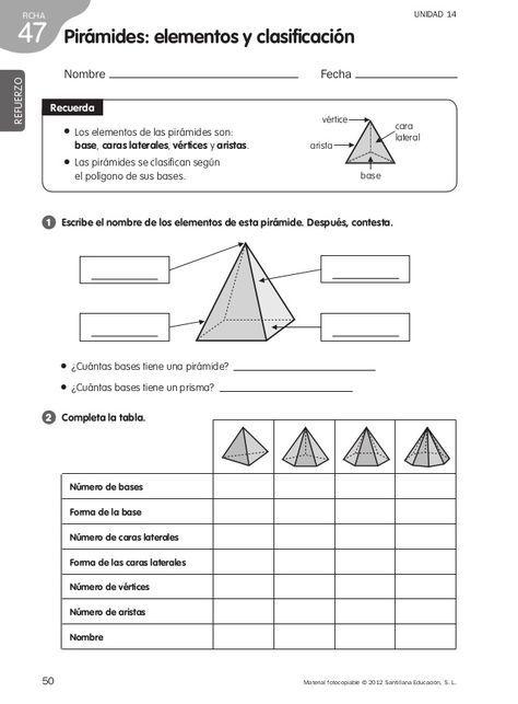 50 Material Fotocopiable C 2012 Santillana Educacion S L Ficha