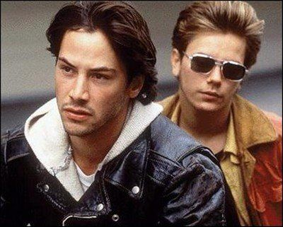 My Own Private Idaho, Starring: River Phoenix and Keanu Reeves.