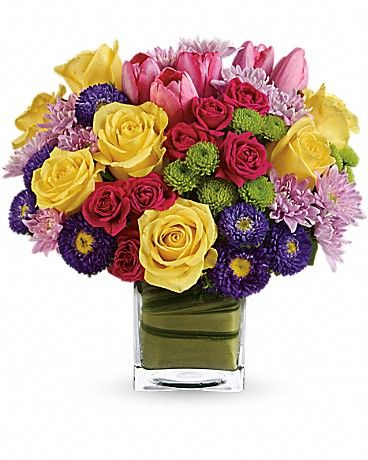 Bright And Beautiful Deluxe Size Teleflora S One Fine Day In