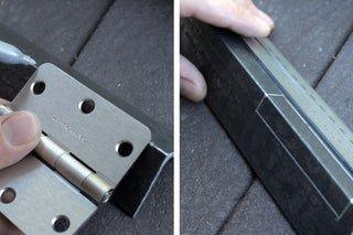 Simple Sheet Metal Brake No Welding Sheet Metal Crafts Sheet Metal Brake Sheet Metal