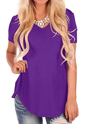 aihihe Short Sleeve Tunics for Women Plus Size Letter Print Casual Loose Crew Neck Tops Blouse T Shirts Tees