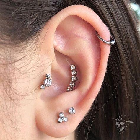 Piercing helix cuidados
