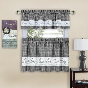 Item Added To Cart Walmart Com Kitchen Curtain Sets Curtains Valance Curtains
