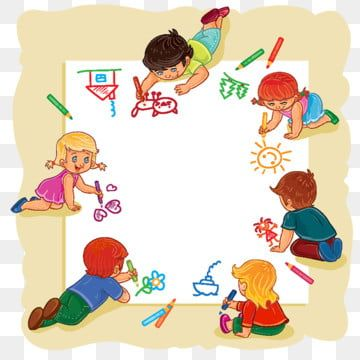 Juntos Con Los Ninos Drawing For Kids Happy Kids Kids Clipart