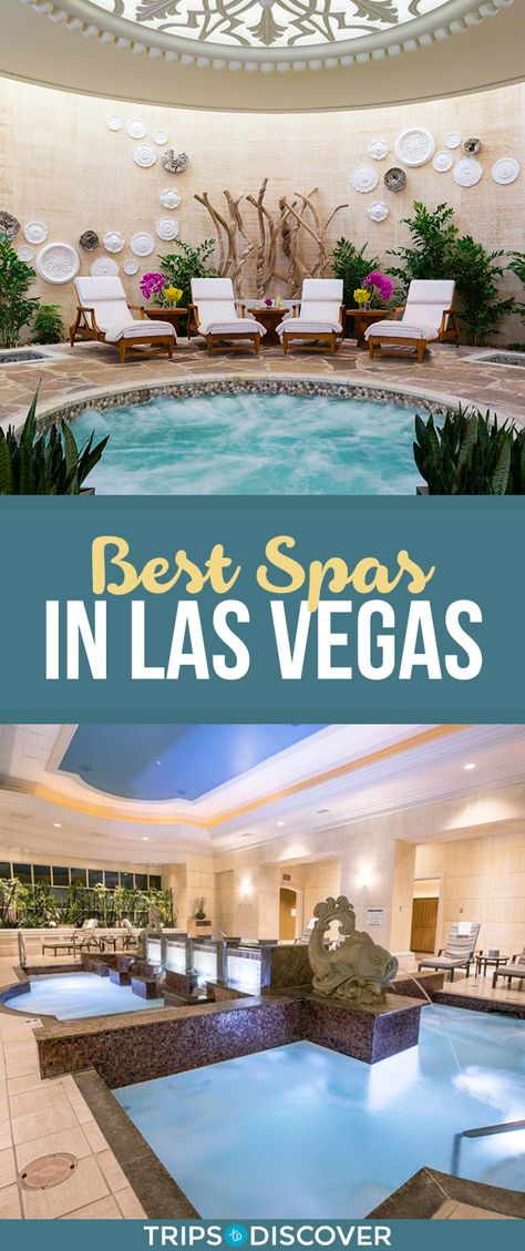 Relax and unwind at one of these best Las Vegas spas found on the Vegas strip. Visit Las Vegas, Las Vegas Vacation, Spas, Couples Spa, Spa Weekend, Vegas Bachelorette, Vegas Party, Best Spa, Relax