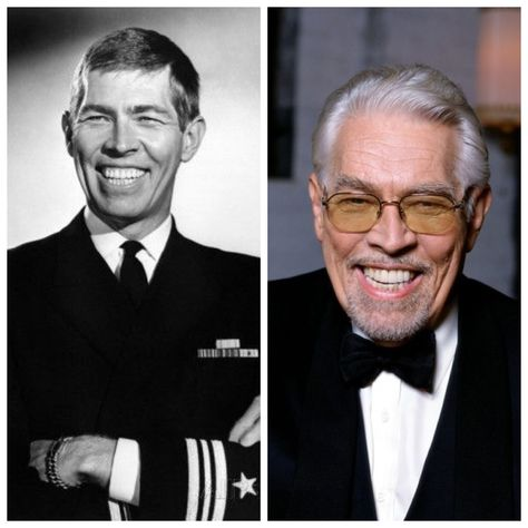 Always liked him with the biggest smile in the world.  I asked if anyone knew the name of a western where he armed himself only with knives and was he ever deadly with them. A sharp eyed pinner reminded me the western was The Magnificent Seven.  I should have remembered...good movie.  James Colburn-Army-WW2-Radio operator (Actor)