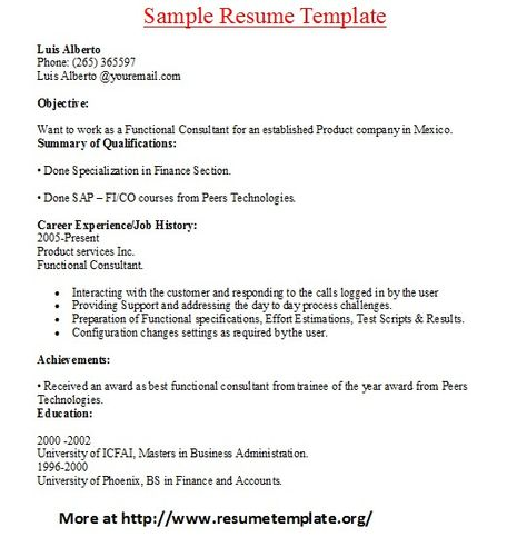 For more and various sample resume templates visit www - google drive resume templates