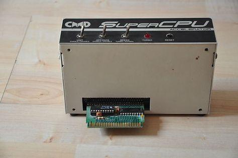 CMD SuperCpu V2 Commodore C128 + MMU SuperAdapter RamCard +