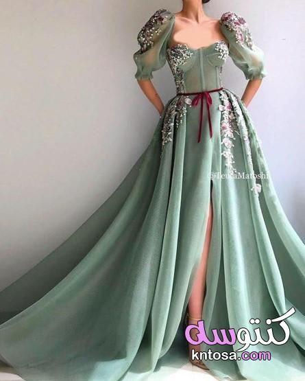 فساتين سهرة محتشمة اجمل الصور فساتين سهرة فساتين سهرة طويلة بأكمام فساتين سهرة فخمة Evening Dresses With Sleeves Dresses Casual Dresses