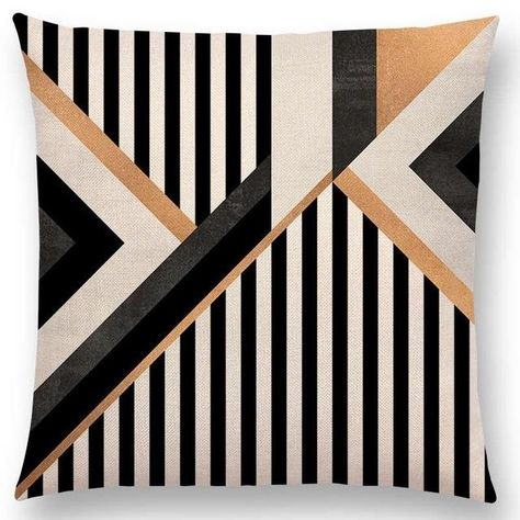 *** Pillow insert sold separately for only *** Shape: Square Material: Linen / Cottonis_customized: YesPattern: PrintedPattern Type: GeometricTechnics: Handmade