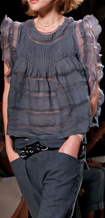 Isabel Marant Spring 2014 Ready-to-Wear Fashion Show Details