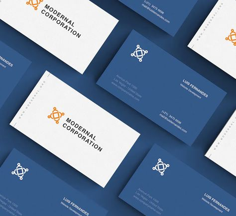 Business Card Layout Design