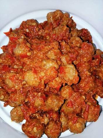Resep Nanna S Sambal Goreng Kreni Pedas Bola2 Kecil Daging Sapi Oleh Nanna Adhiwibowo Resep Makanan Pedas Resep Makanan Dan Minuman