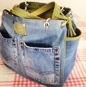 Jeans Taschen Jeans Tasche Jeanstaschen Taschen