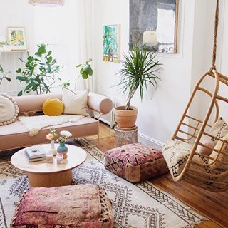 Dreaming Of Relaxing In This Beautiful Boho Chic Apartment Ph With Images Apartment Decorating Livingroom Industrial Interior Style Apartment Decorating Living