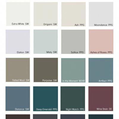 2019 Paint Color Trends and Color Forecast #bedroomcolors