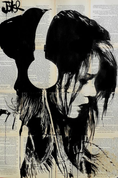 """""""Melodies Solace"""" - canvas print by Loui Jover"""