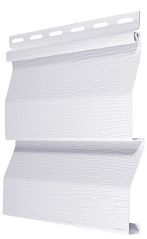 Cedar Creek 10 25 Inch X 12 Ft 7 5 Inch Double 4 Inch Dutch Lap Siding In White 24 Pack Dutch Lap Siding Dutch Lap Lap Siding